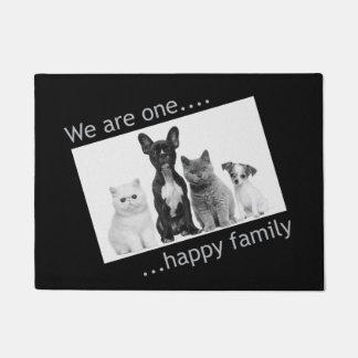 Paillasson Natte - nous sommes une famille heureuse