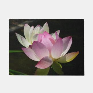 Paillasson Paires de fleurs de Lotus II