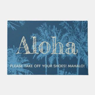 Paillasson Paumes peu précises hawaïennes de plage de Makena