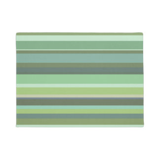 Paillasson Rayures horizontales de vert olive