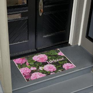 Paillasson rose des géraniums 185