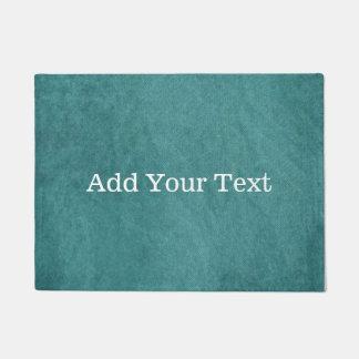 Paillasson Texture bleue turquoise de tissu de Digitals par