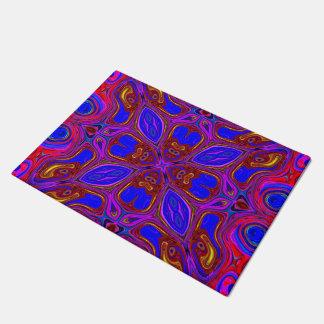 Paillasson Vague abstraite colorée