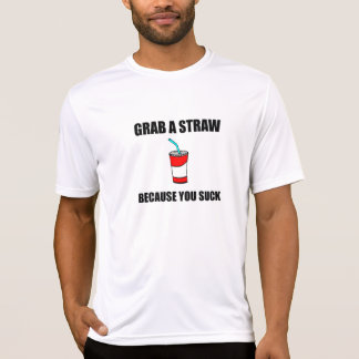 Paille de grippage que vous sucez t-shirt