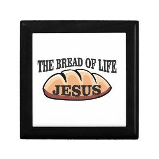 pain de Jésus de la vie Petite Boîte À Bijoux Carrée