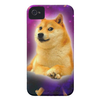 pain - doge - shibe - l'espace - wouah doge coque Case-Mate iPhone 4