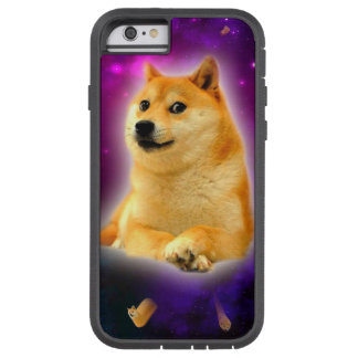 pain - doge - shibe - l'espace - wouah doge coque iPhone 6 tough xtreme
