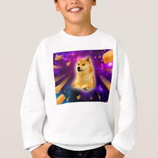 pain - doge - shibe - l'espace - wouah doge sweatshirt