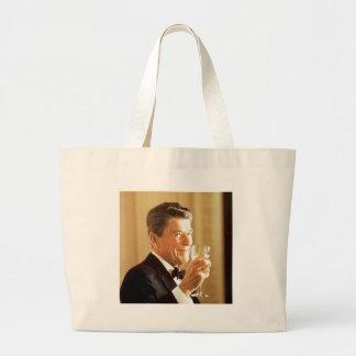 Pain grillé de Ronald Reagan Grand Tote Bag