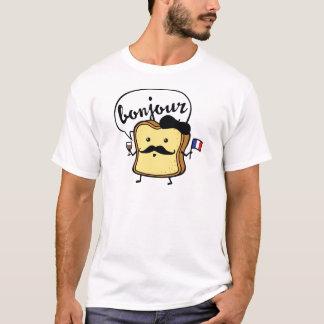 Pain grillé français t-shirt