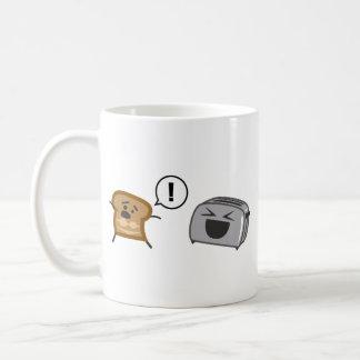 Pain grillé grillé Tanlines Mug