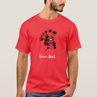 Paintball rouge t-shirt