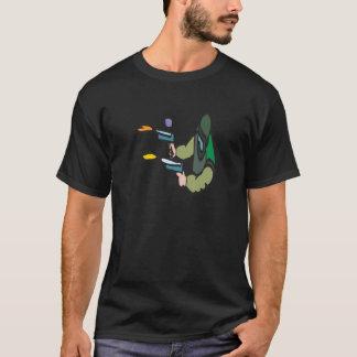 Paintballs de tir t-shirt