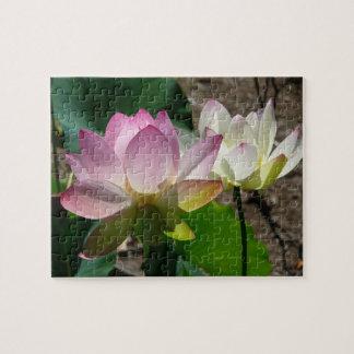 Paires de fleurs de Lotus I Puzzle