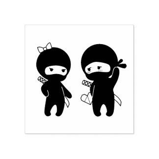 Paires de Ninja, un garçon et une fille