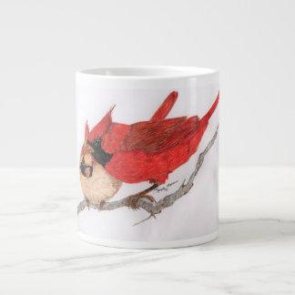 Paires de tasse de cardinaux