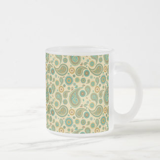 Paisley Mug En Verre Givré