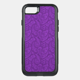 Paisley pourpre coque OtterBox commuter iPhone 8/7