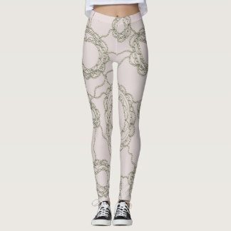 Paisley subtil leggings