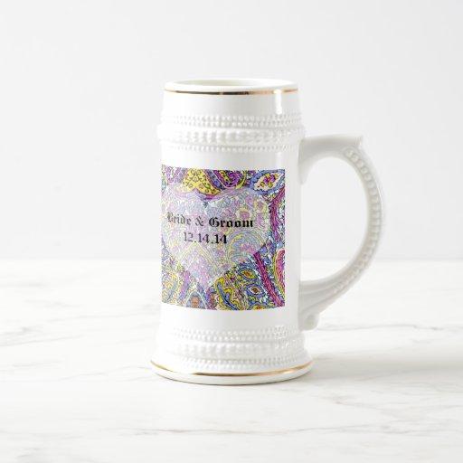 Paisley vintage tasse
