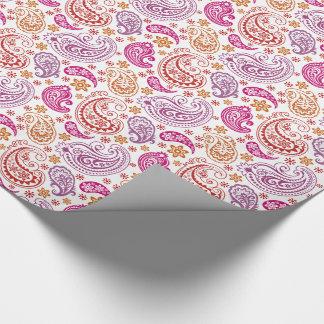 Paisleys en pastel géant -2 - papier d'emballage papiers cadeaux noël