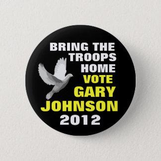 Paix 2012 de Gary Johnson Badges