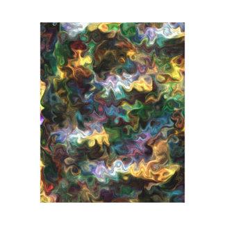 paix abstraite vive colorée 228Y de découverte Toile