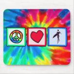 Paix, amour, filles de surfer