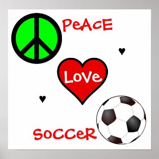 Paix, amour, le football ! Affiche