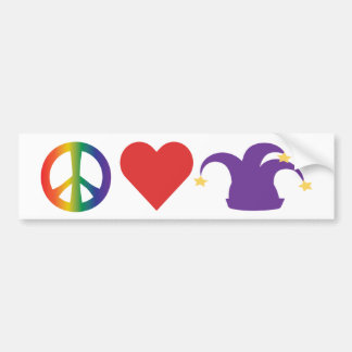 Paix, amour, le TDC Autocollant Pour Voiture