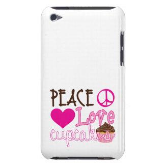 Paix, amour, petits gâteaux coque Case-Mate iPod touch