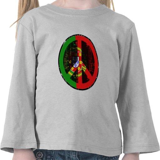 Paix au Portugal T-shirts