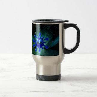 Paix et expression de liberté tasse à café