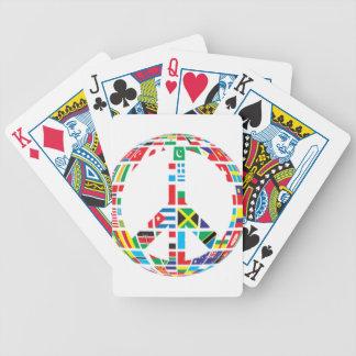 Paix globale jeu de cartes