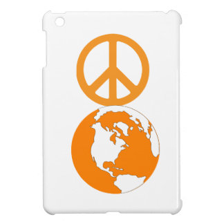 Paix sur cas d'iPad de la terre le mini Coques iPad Mini