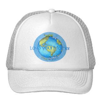 Paix sur terre - jour de la terre casquette
