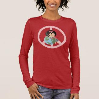 """""""Paix T-shirt d'Emily sur terre"""""""