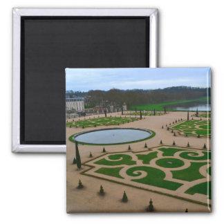 Palais de jardin de Versailles en Île-De-France r Magnet Carré