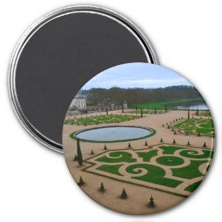 Palais de jardin de Versailles en Île-De-France r Magnet Rond 7,50 Cm