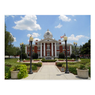 Palais de justice la Floride du comté de Pasco Cartes Postales