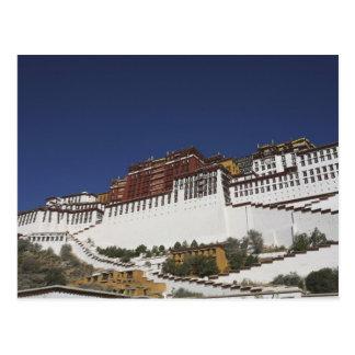 Palais de Potal à Lhasa, Thibet Cartes Postales