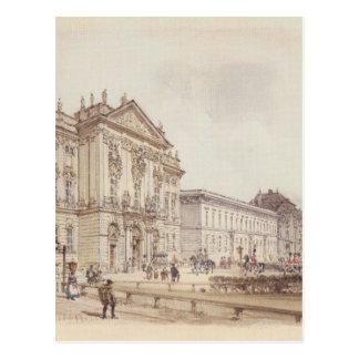 Palais de Trautson à Vienne par Rudolf von Alt Carte Postale