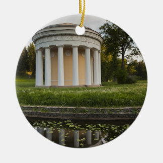 Palais de tsar Paul I, temple de l'amitié Ornement Rond En Céramique