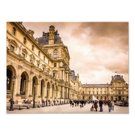 Palais Du Louvre, Paris Art Photographique
