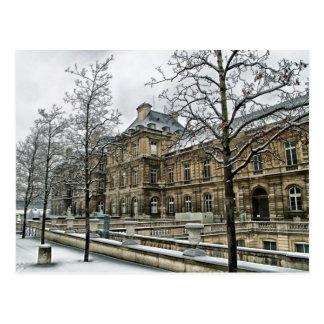 Palais du luxembourgeois - le siège du sénat carte postale