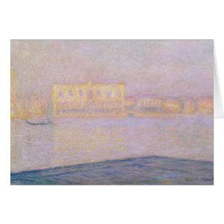 Palais ducal de Claude Monet | de San Giorgio, Carte De Vœux