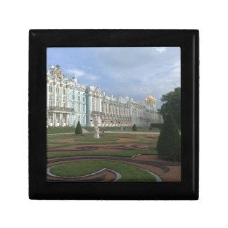 Palais St Petersburg, Russie d'hiver Petite Boîte À Bijoux Carrée