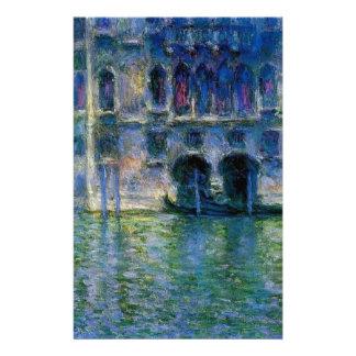 Palazzo DA Mula à Venise par Claude Monet Papiers À Lettres