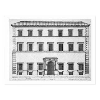 """Palazzo Millini, Rome, des """"Di Roma de Palazzi"""", p Carte Postale"""