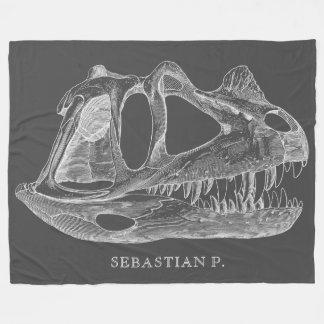Paléontologie d'os de dinosaure de Megalosaurus Couverture Polaire